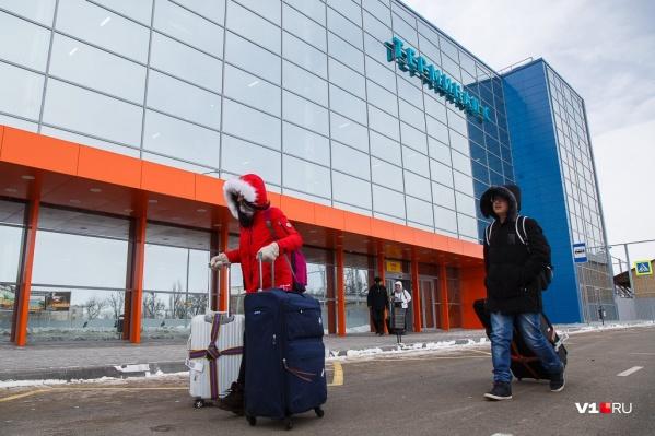 Гендиректор волгоградского аэропорта признался, что заявление одного человека помогло увеличить пассажиропоток