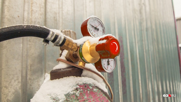 В Самарской области возрастет цена сжиженного газа в баллонах