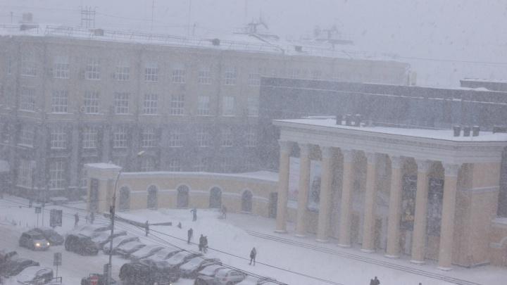 К Новосибирской области приближаются метели с ветром до 23 м/с