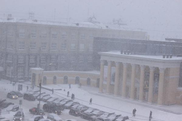 Начало Нового года принесёт в Новосибирскую область обильные снегопады