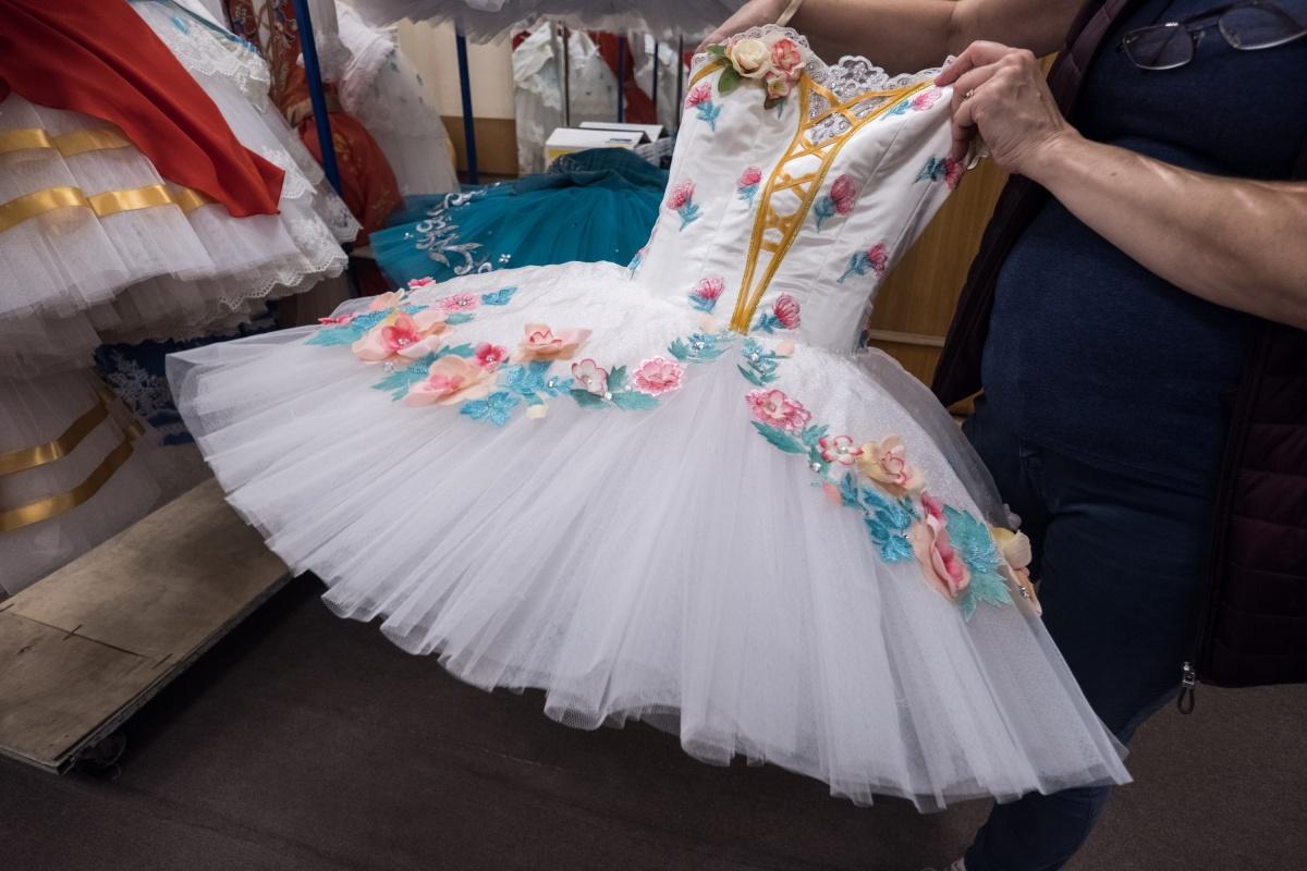 Свадебный костюм Сванильды