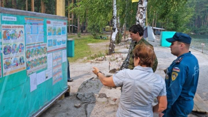 «Плохо видно пути эвакуации»: на Южном Урале проверили палаточные лагеря для детей