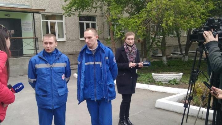 «Наехал задом, а потом передом»: бригада медиков— о том, как сбили их водителя в Екатеринбурге