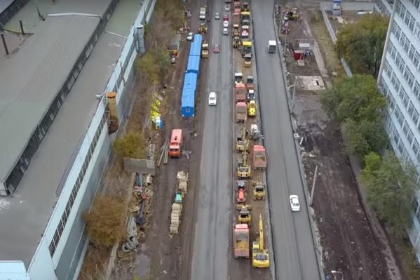Ремонт Заводского шоссе обещают завершить в 2019 году