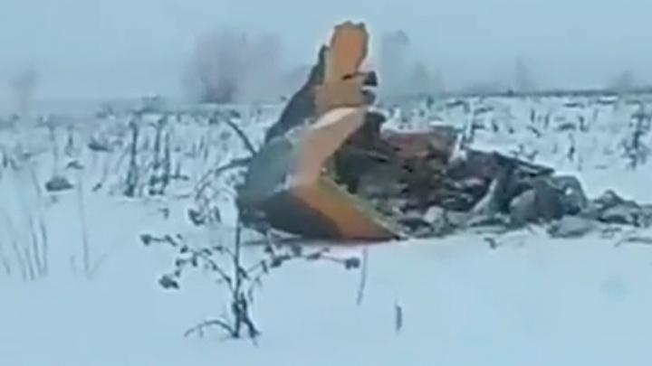«Больше похоже на какой-то взрыв»: собираем в режиме онлайн информацию о крушении Ан-148