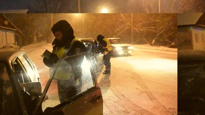 За выходные сотрудники ГИБДД поймали на дорогах Екатеринбурга 29 пьяных водителей