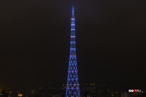 На башне появились новые узоры