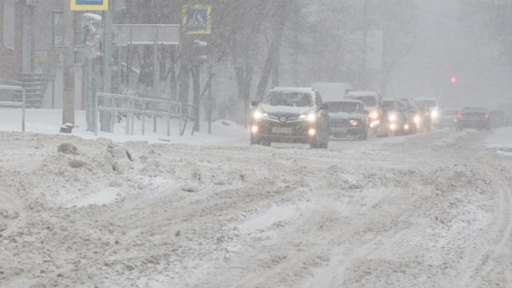 В Самарской области выпало рекордное количество снега