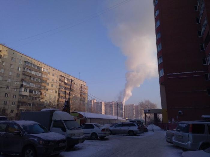 Пожар произошёл в доме  № 86  на улице Пархоменко