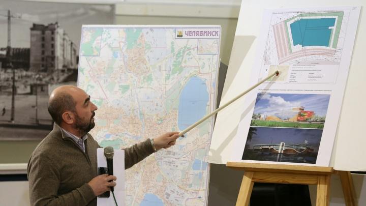 Челябинск пошёл в горку: проект торгового комплекса с аквапарком представили на публичных слушаниях