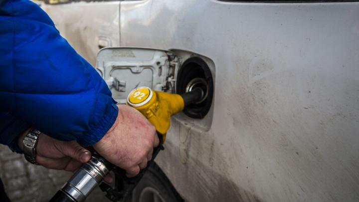 Бензин на новосибирских заправках подорожал на 1,5% за месяц