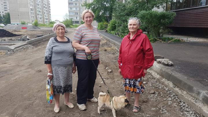 «Мало щебня», «Спасибо», «Лучше бы крышу сделали»: как курганцы реагируют на ремонт дворов
