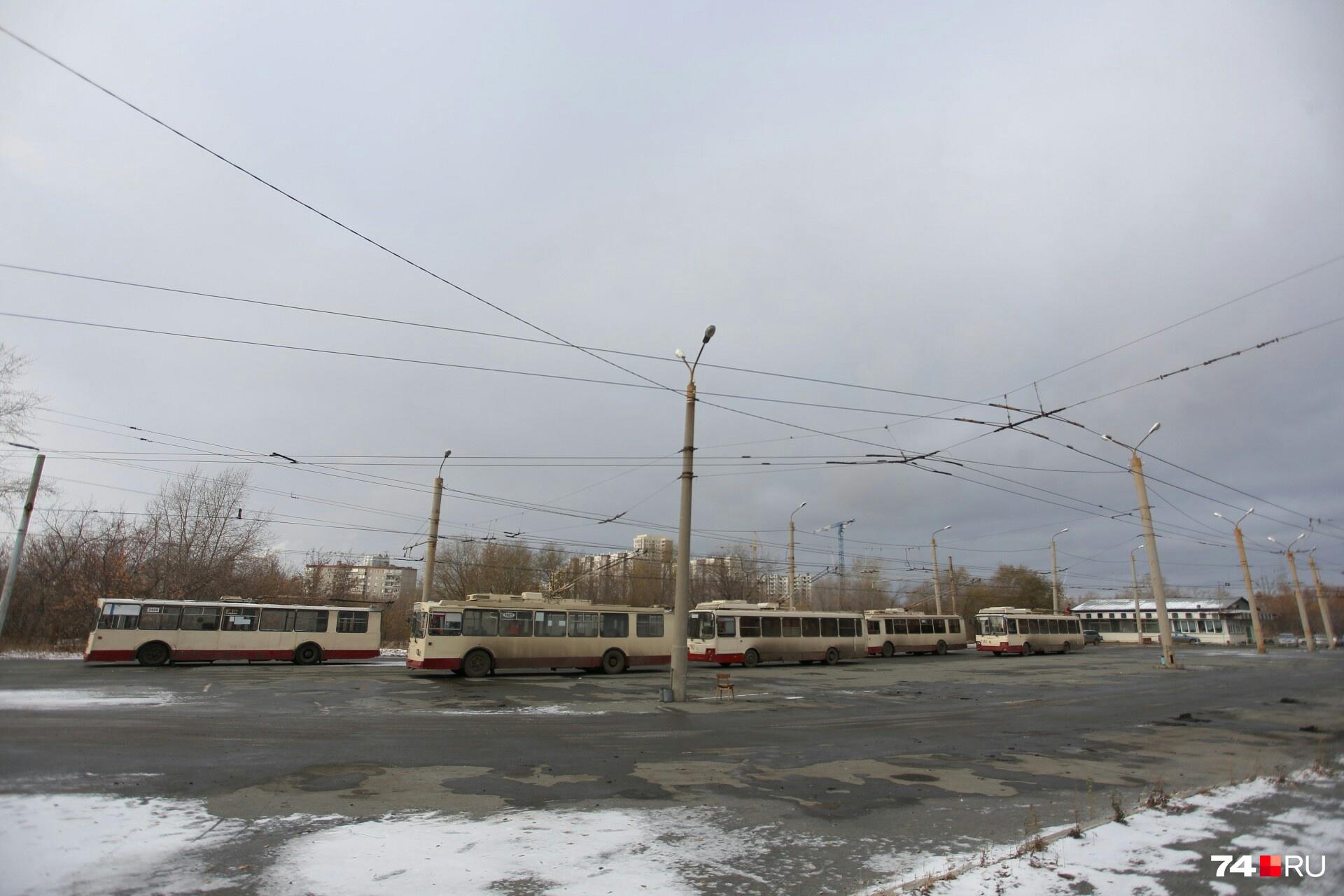 Территория будущего аквапарка находится за троллейбусным кольцом на АМЗ