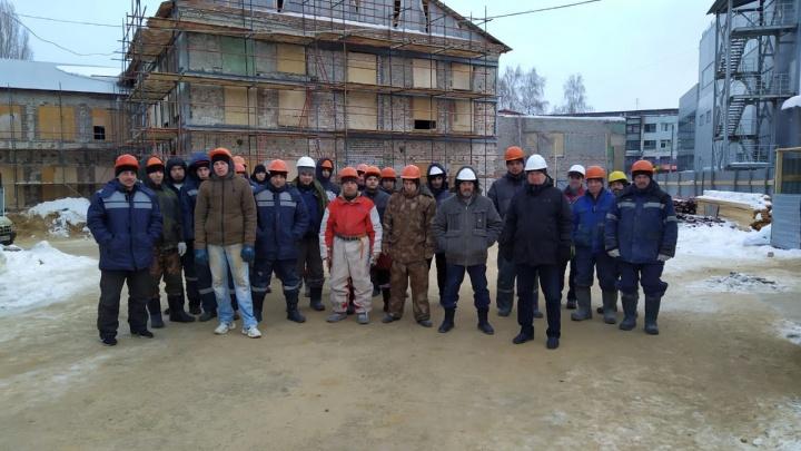 37 молодцев: директор самарской Третьяковки показал тех, кто реставрирует Фабрику-кухню