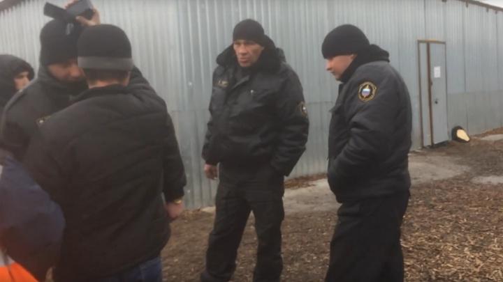 «ЧОП провоцирует активистов»: на Шиесе охранники применили силу к противнику мусорного полигона