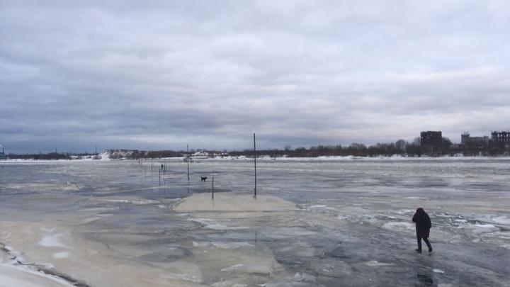 В МЧС прокомментировали, стоит ли бояться ледовых переправ в оттепель