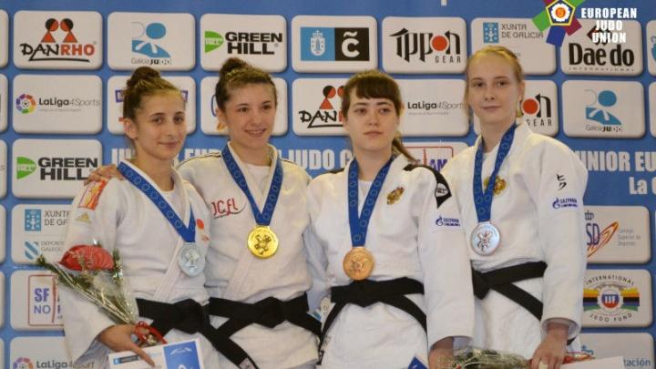 Челябинская дзюдоистка стала бронзовым призёром Кубка Европы среди юниорок