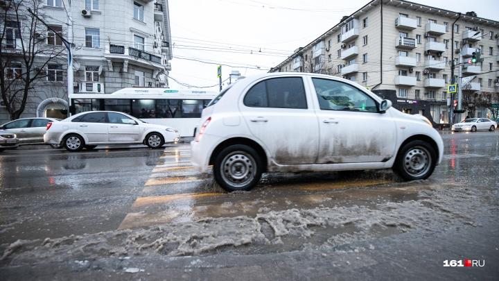 Власти рассказали, когда в Ростове появятся новые ливневки и сколько на них надо потратить