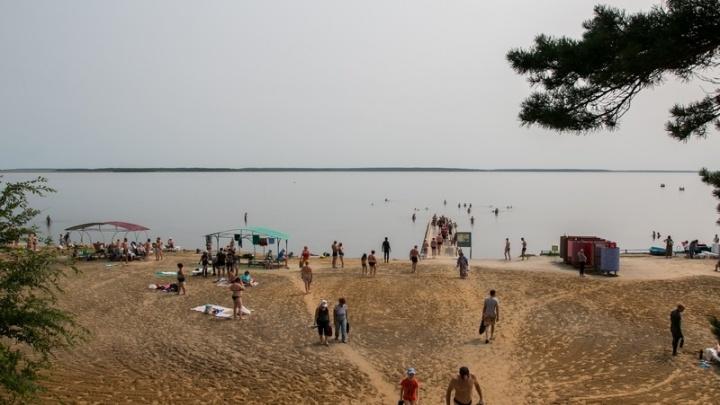 В Курганской области на озере Медвежье хотят создать курорт международного уровня