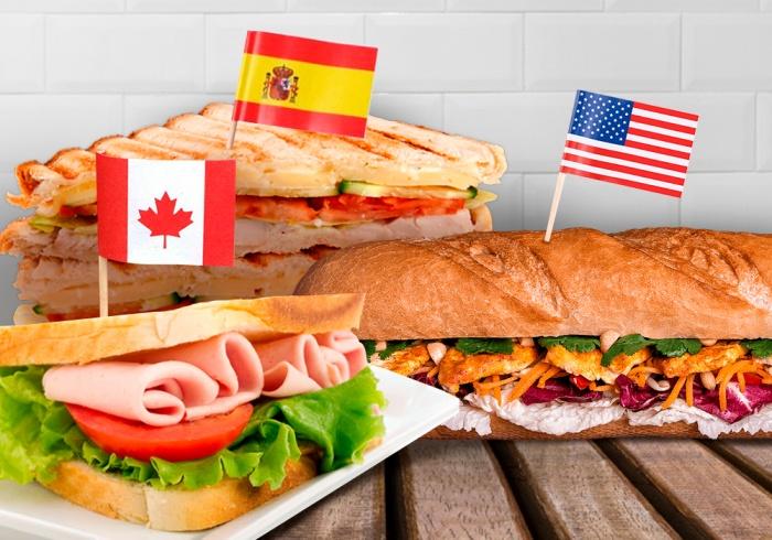 Бутерброды и сэндвичи — основное блюдо для ланча во многих странах мира
