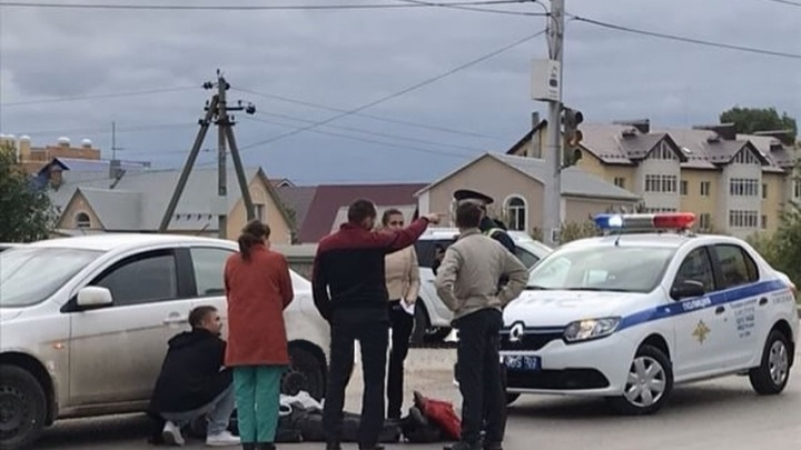 Под Уфой на трассе водитель иномарки сбил пешехода