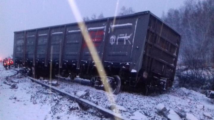 Следователи возбудили уголовное дело после крушения поезда в Омской области