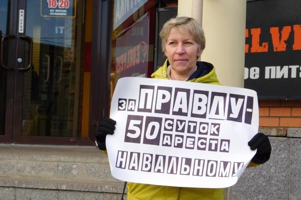 Ольга Кузнецова говорит, что за два с половиной часа полиция к ней не подходила
