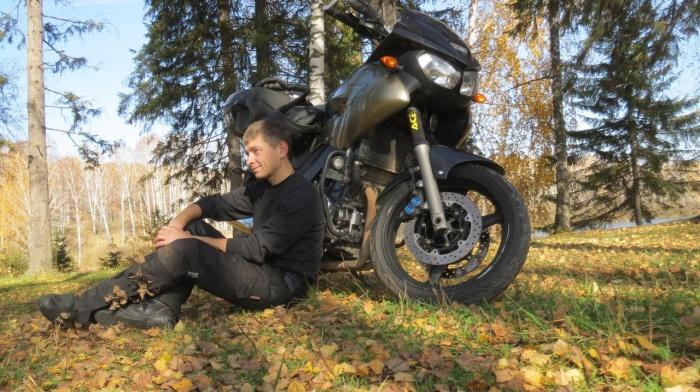 Михаил объездил на мотоцикле всю Россию и много других стран