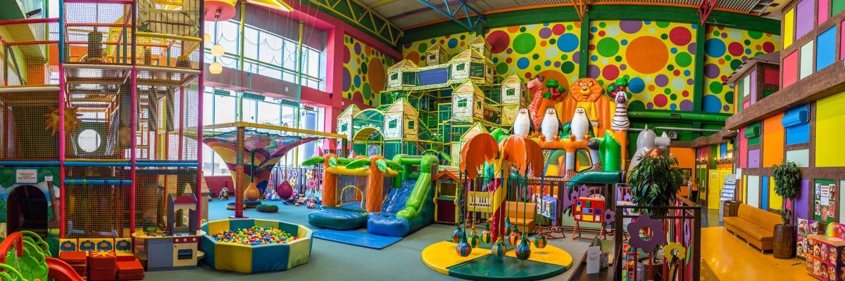 В парке «Мегалэнд» найдутся интересные и безопасные занятия для детей разного возраста