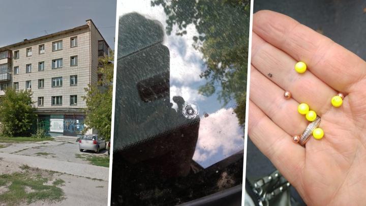 В Академгородке обстреляли «Хонду Цивик»: в лобовое стекло попали шесть пуль