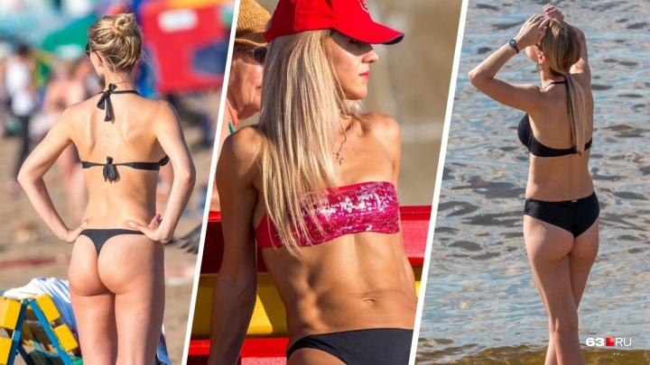 Самарские красотки вышли на пляж: смотрим знойную фотоподборку с Волги