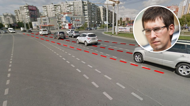 Когда дорожникам параллельно: почему челябинских автомобилистов путает косая разметка