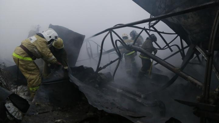В Башкирии при пожаре в доме обгорела 75-летняя бабушка