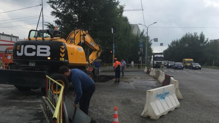 Из-за прорыва на Одесской без воды остались 30 домов