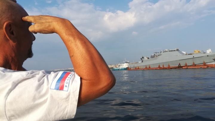 Полюбовались военным кораблём: в Самаре отметили День ВМФ