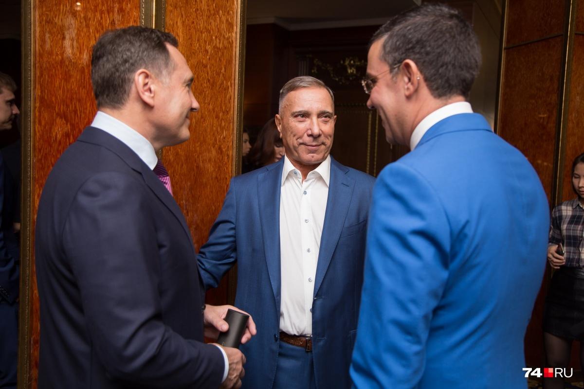 Три поколения бизнесменов встретились в «клубе олигархов»: Валерий Бондаренко, Александр Аристов и Юрий Фишер