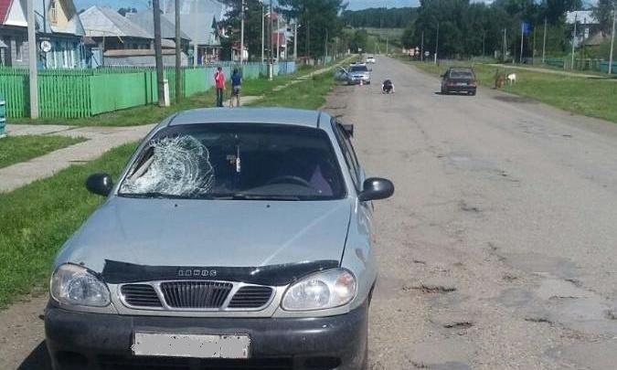 В башкирской деревне пьяный водитель сбил насмерть пенсионерку