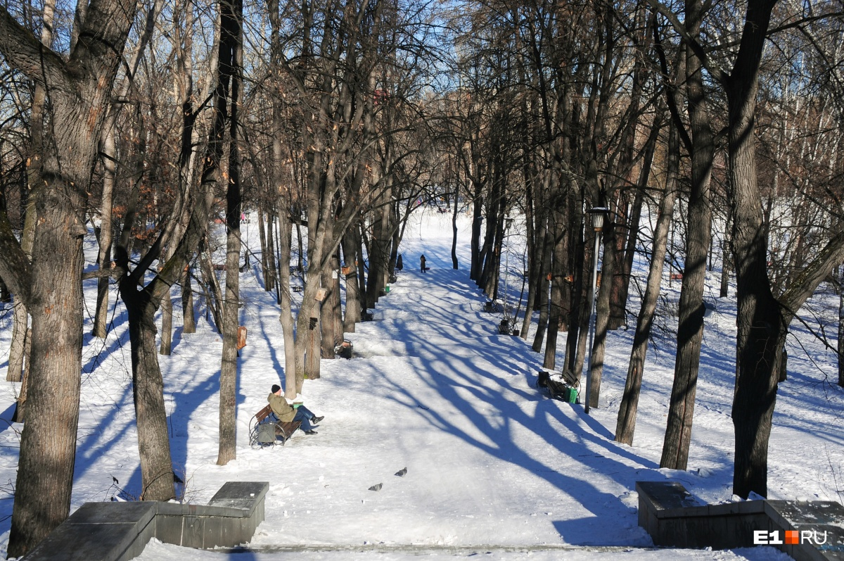 Харитоновский парк — одно из самых любимых мест Ольги Зайченко в Екатеринбурге