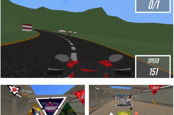 Приложение «SpeedRiders» для очков виртуальной реальности