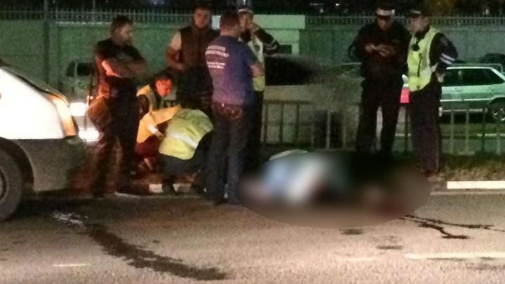 В Ярославле молодой костромич намикроавтобусе задавил женщину