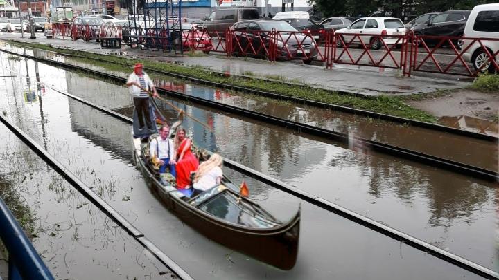 Венеция 2.0: каким был бы Ярославль, если бы по нему плавали гондолы