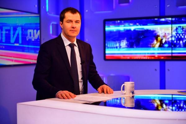 Мэр Ярославля Владимир Волков регулярно посещает эфирную студию «Городского телеканала»