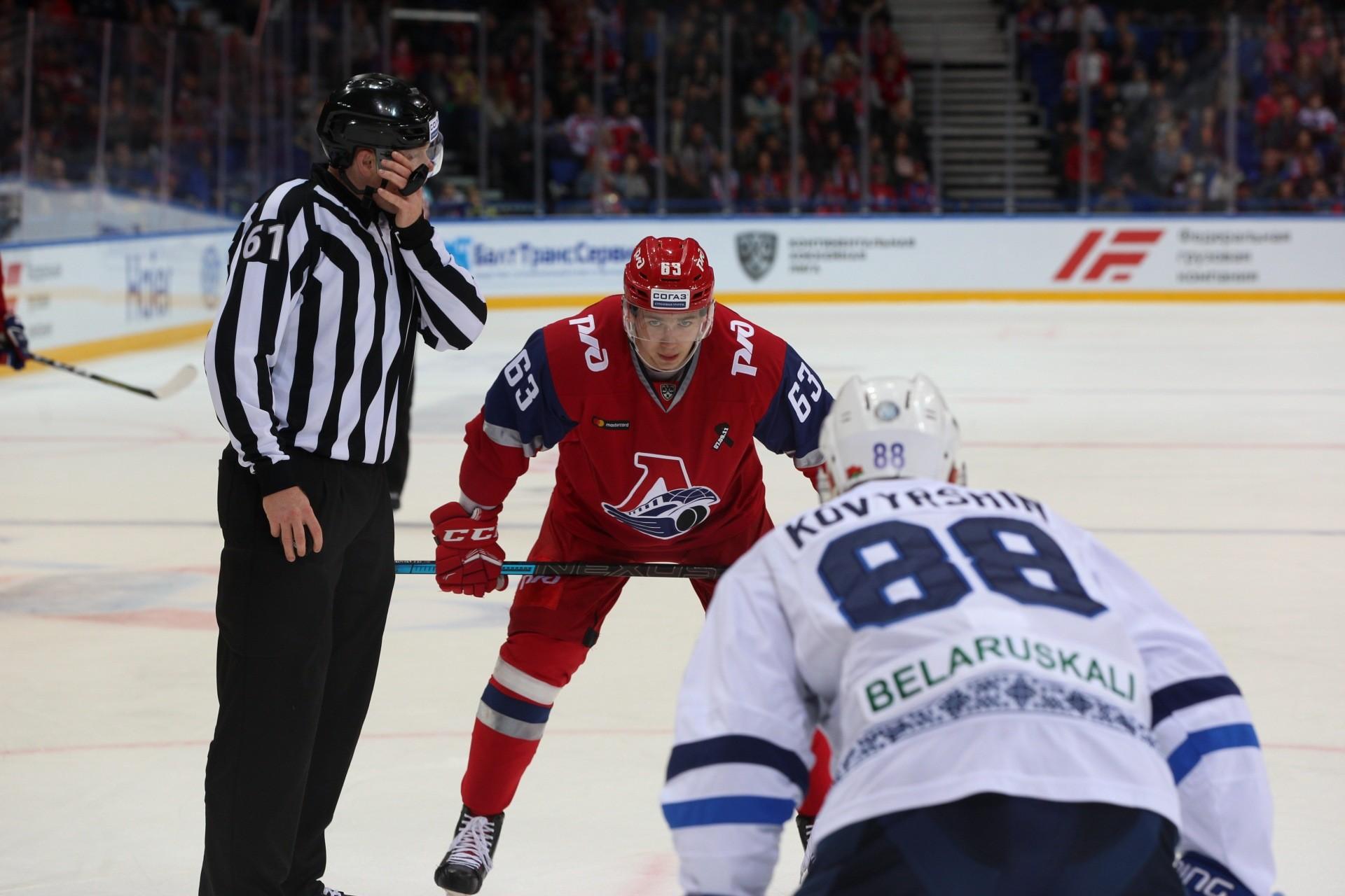 Игроки «Динамо» дважды поразили ярославские ворота