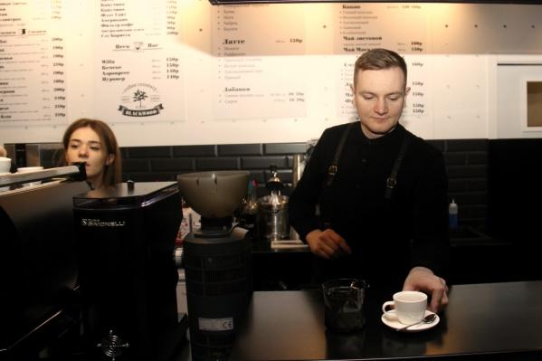 Это уже третья точка сети Blackwood Coffee