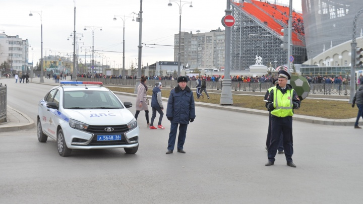 Улицы вокруг Центрального стадиона перекроют 6 мая из-за матча «Урал» — «Амкар»