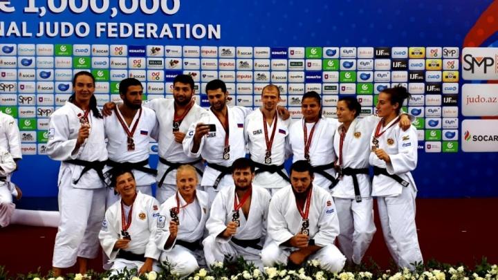 На глазах у Путина: челябинец взял бронзу на чемпионате мира по дзюдо в Баку