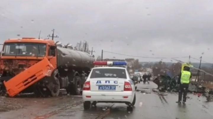 В Прикамье водитель ВАЗа пострадал в ДТП с грузовиком