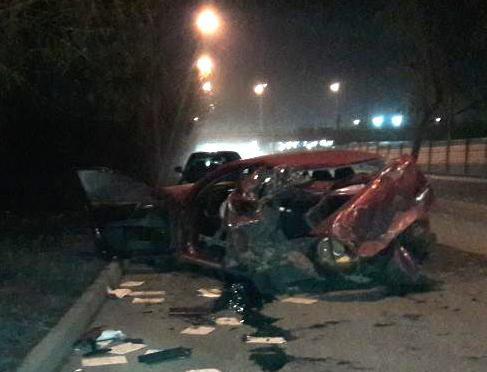 В жёстком ДТП в Первомайском районе пострадала девушка