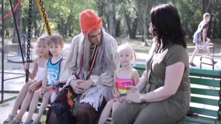 Народная бабуля Галамартовна раскрыла секреты по воспитанию детей