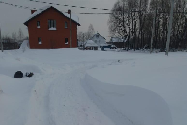 Дороги занесло по всему Новосибирску